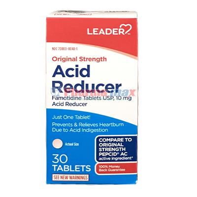 Leader Acid Reducer 10mg 30tab