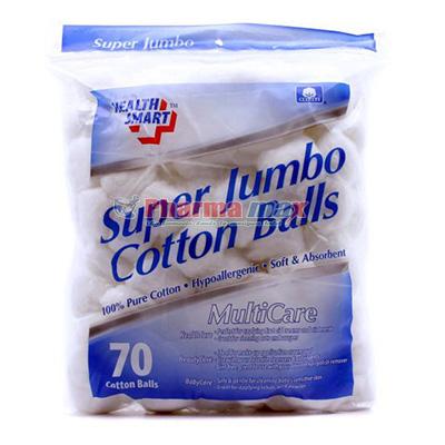 Health Cotton Balls Jumbo 70ct