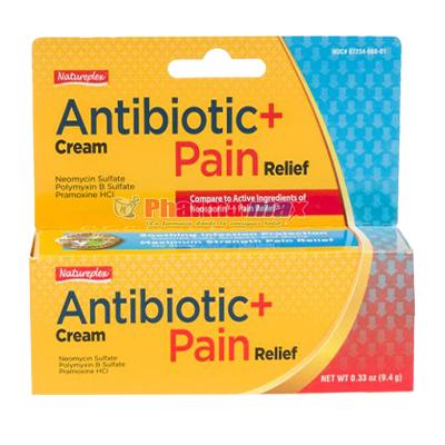 Natureplex Antibiotic Pain Cream .33oz