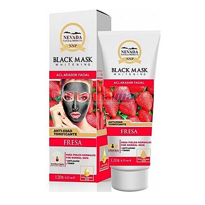 Nevada Black Mask Strawberry 120g