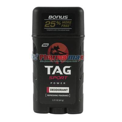 Tag Sport Deodorant Body Spray Power 2.25oz